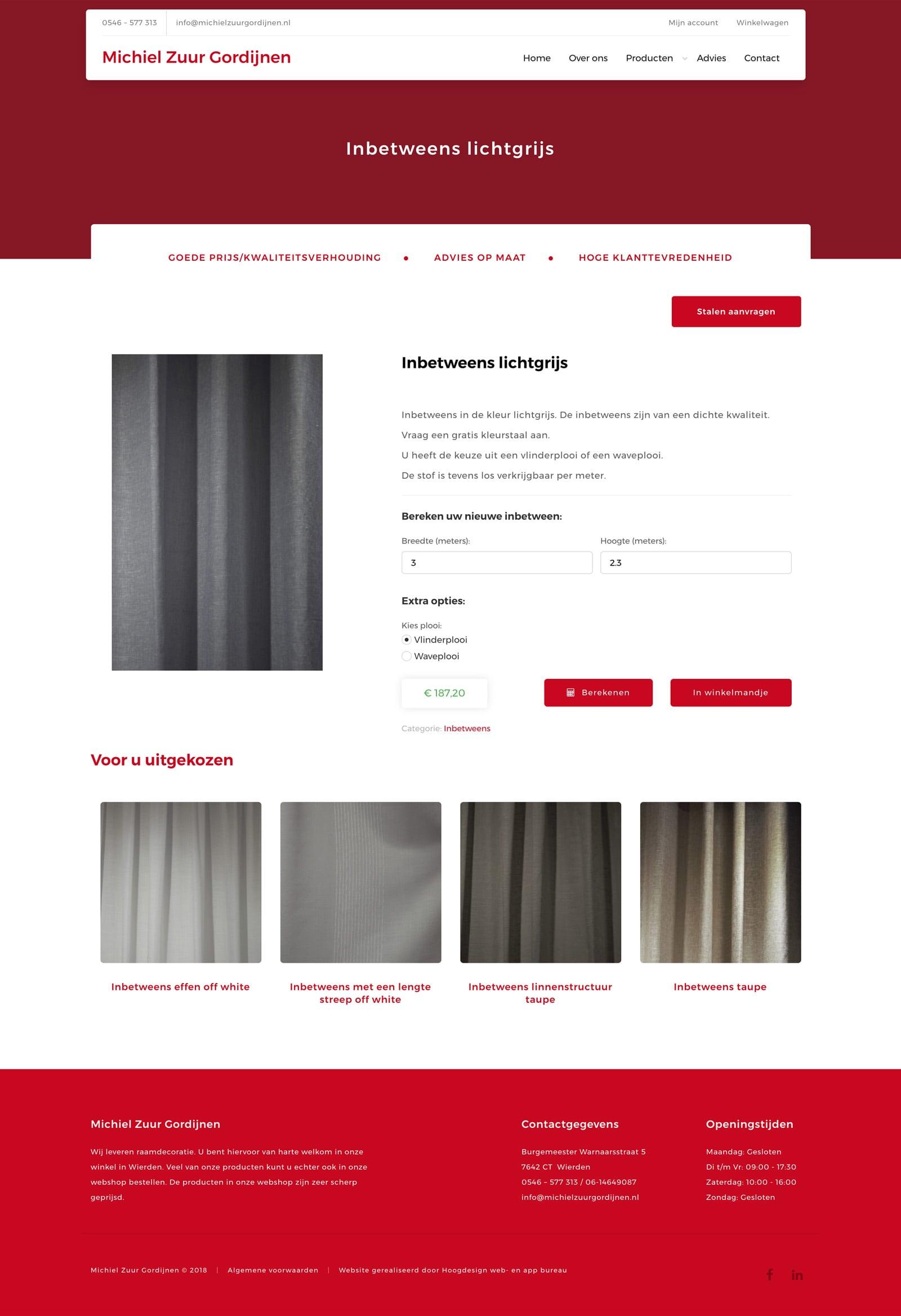 Beautiful Gordijnen Maat Berekenen Pictures - Huis & Interieur ...